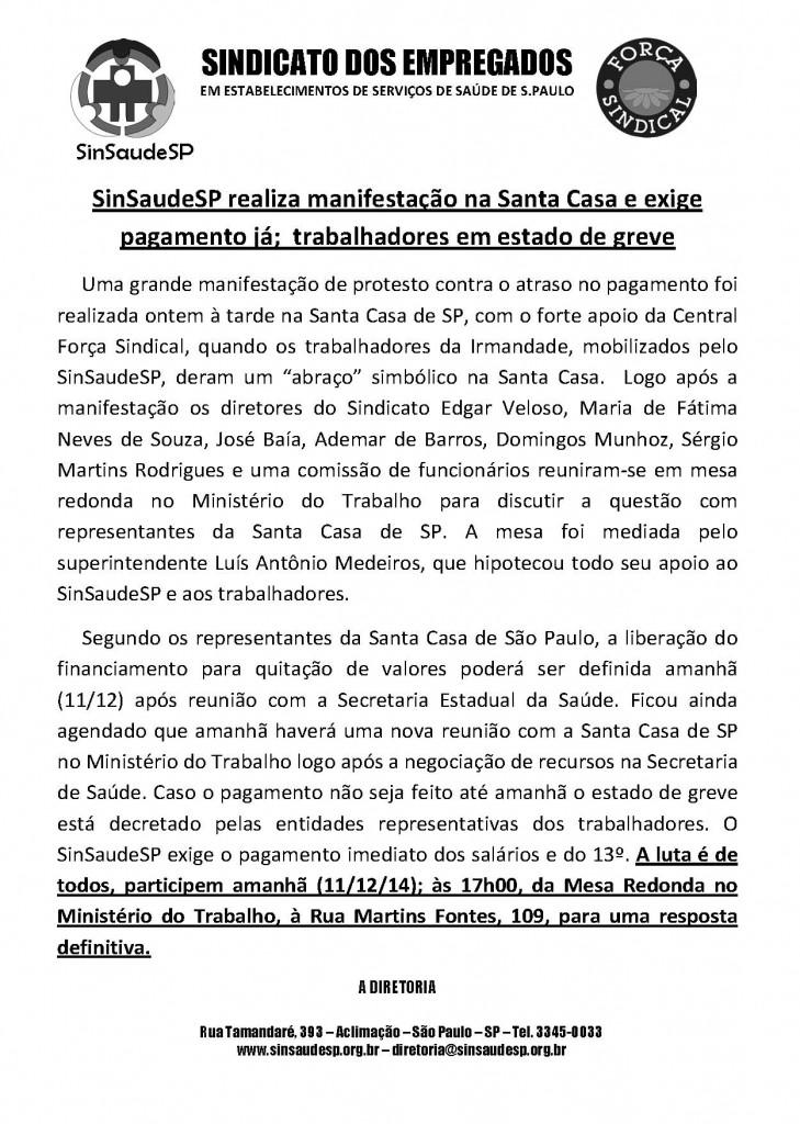 Boletim Santa Casa 1