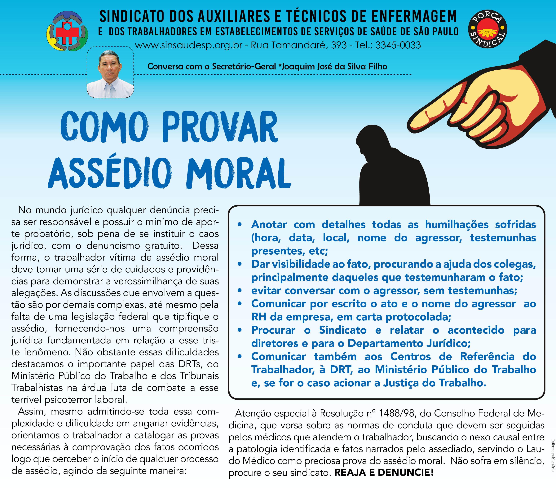 Recado especial - Assedio Moral