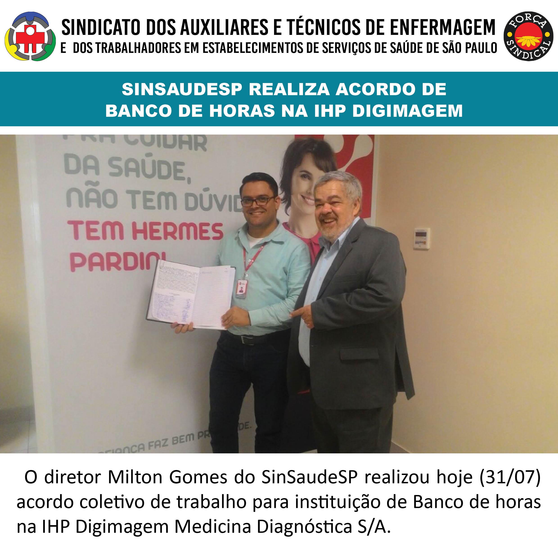 Banco de Horas IHP Digimagem