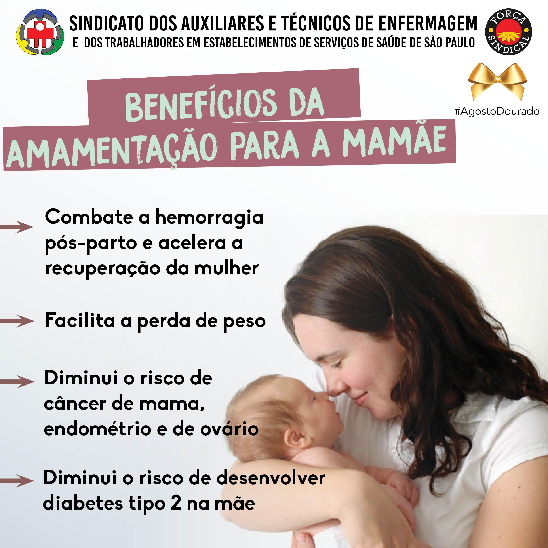 beneficios da amamentacao mamae