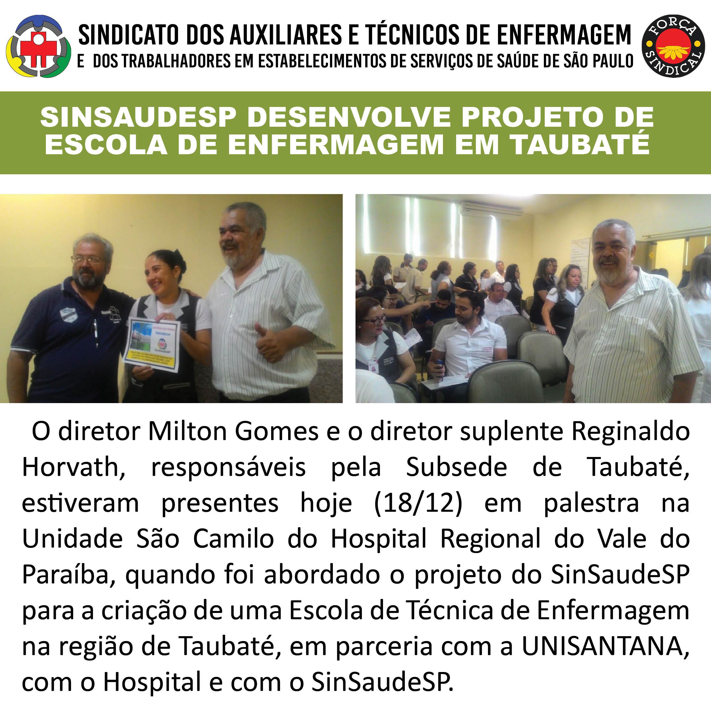 Escola de Enfermagem em Taubate