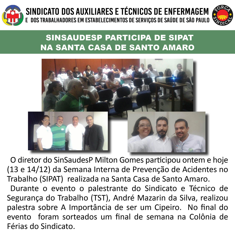 SIPAT Santa Casa