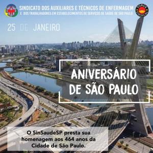 Aniversario de Sao Paulo