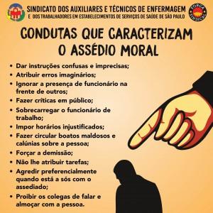 condutas que caracterizam o assedio moral