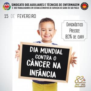 dia mundial contra o cancer na infancia