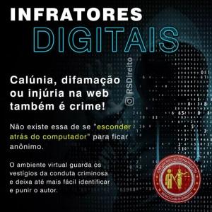 infratores digitais